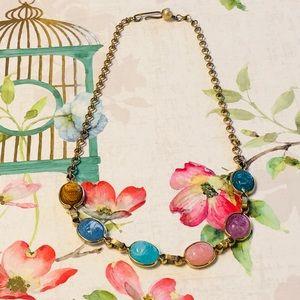 Vintage Choker Necklace Rhinestones